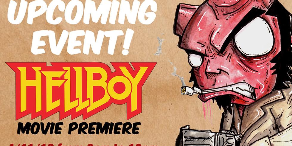 HellBoy Movie premiere