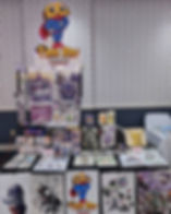 All setup at Pokefest! Come hang out and