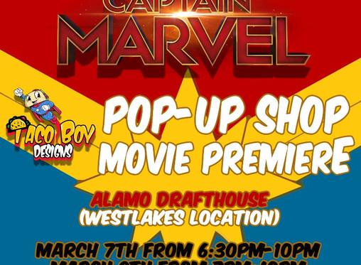 Captain Marvel Movie Premiere