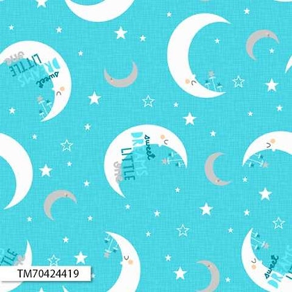 Sweet Dreams Moon Toss Teal