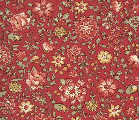 Jardin De Fleurs - Rouge 412