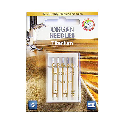Organ Titanium 11/75 - 14/90 Needle
