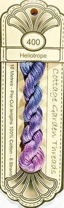 Cottage Garden Threads Blue Border Family 400 - 406
