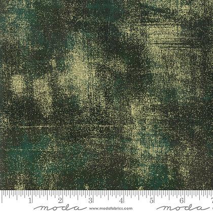 Grunge Metallic Christmas Green 308