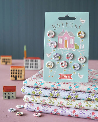 Tilda Tiny Farm Buttons Pack *Limited stock*