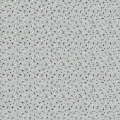 Dandelion Fluffs Gray | Woodland Songbirds Collection