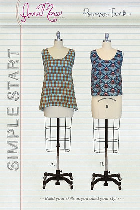 SIMPLE START POPOVER TANK by Anna Maria