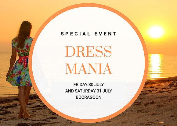 Dress Mania - Friday 30/JUL/2021