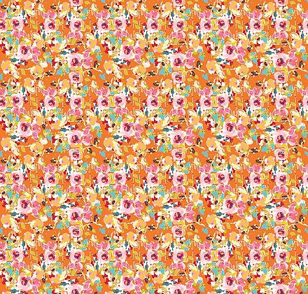 Bittersweet Floral - Orange