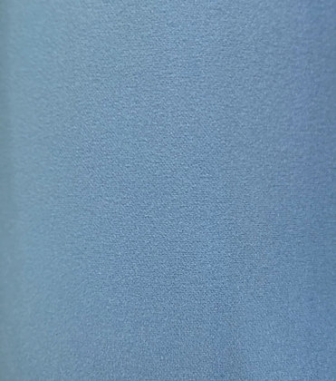 Scuba Crepe Bluebell Knit fabric