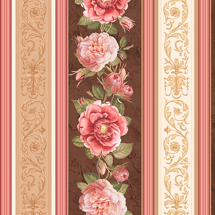 Rosehill - Rose Decorative Stripe 24767-X