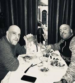 Gunner with acclaimed Mafia author Scott M. Burnstein