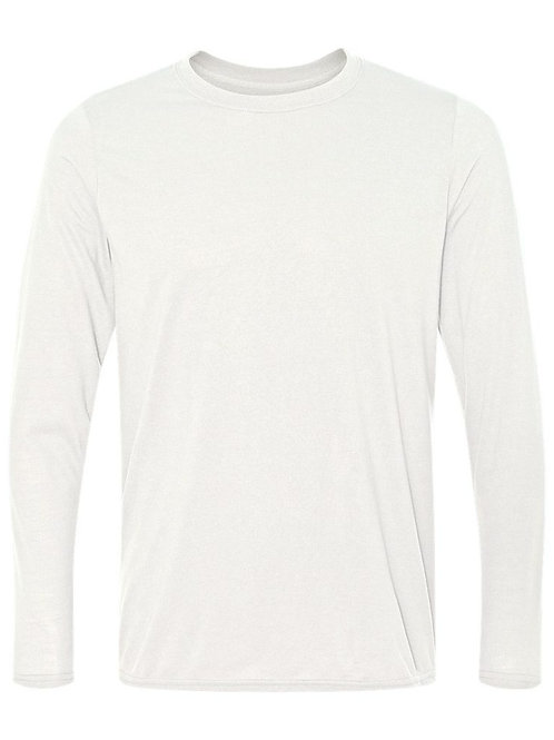 #PLS0025 -- PERFORMANCE LONG SLEEVE T-SHIRT (with Design # 25)