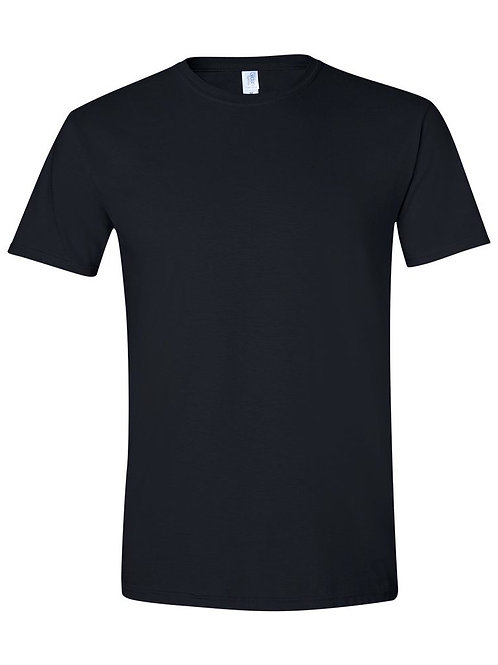 ITEM C008 Custom Line Performance Black T-Shirt