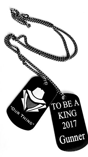 "#AC001 ""OUR THING"" Dog Tags - Customized"