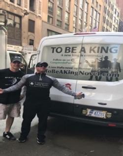 Billy Usher and Gunner in NYC
