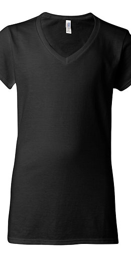 #L0014 -- LADIES CUT T-SHIRT (with Design # 14)