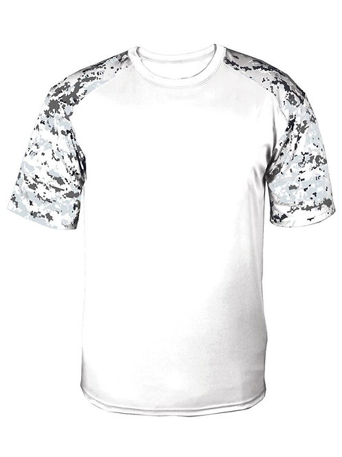 #CP0025 -- PERFORMANCE CAMO T-SHIRT (with Design # 25)