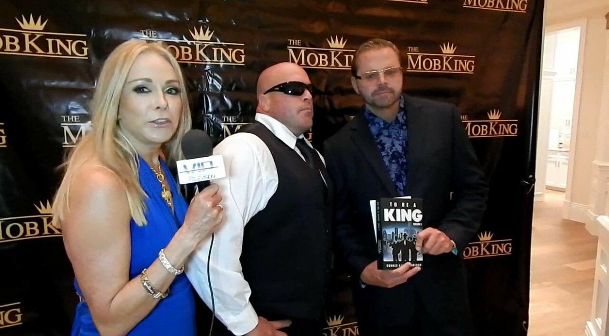 Gunner with Mob King actor Ciro Dapagio