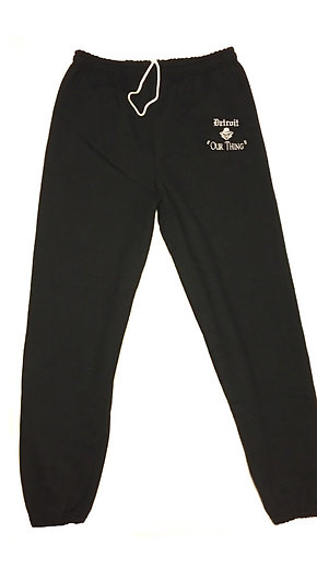 #EM0008 EMBROIDERED DRAWSTRING SWEATPANTS