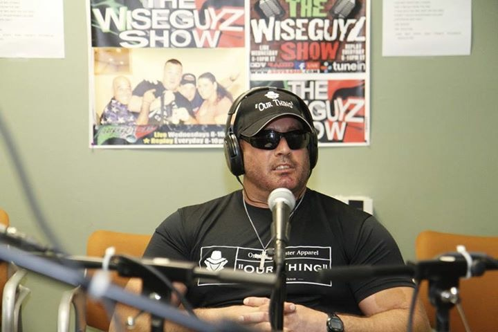 Gunner on the Wise Guyz show