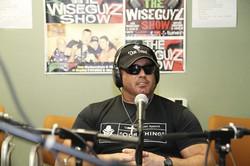 Gunner on the Wise Guyz show