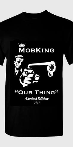#MK1 -- MobKing Limited Edition T-Shirt, Design # 1