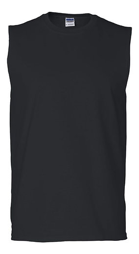 #M0001 -- MUSCLE SHIRT (with Design # 1)