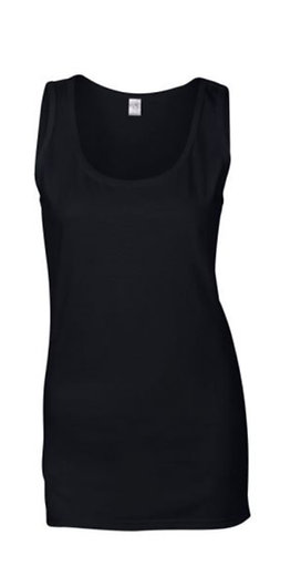 #LT0010 -- LADIES TANK TOP (with Design #10)