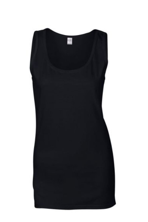 #LT0012 -- LADIES TANK TOP (with Design #12)