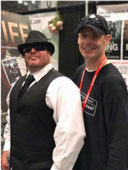 Billy Usher and Gunner in NYC 2