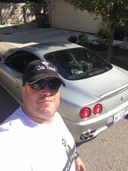 Gunner with Matt Simoncini (CEO of Lear) Ferrari Maranello