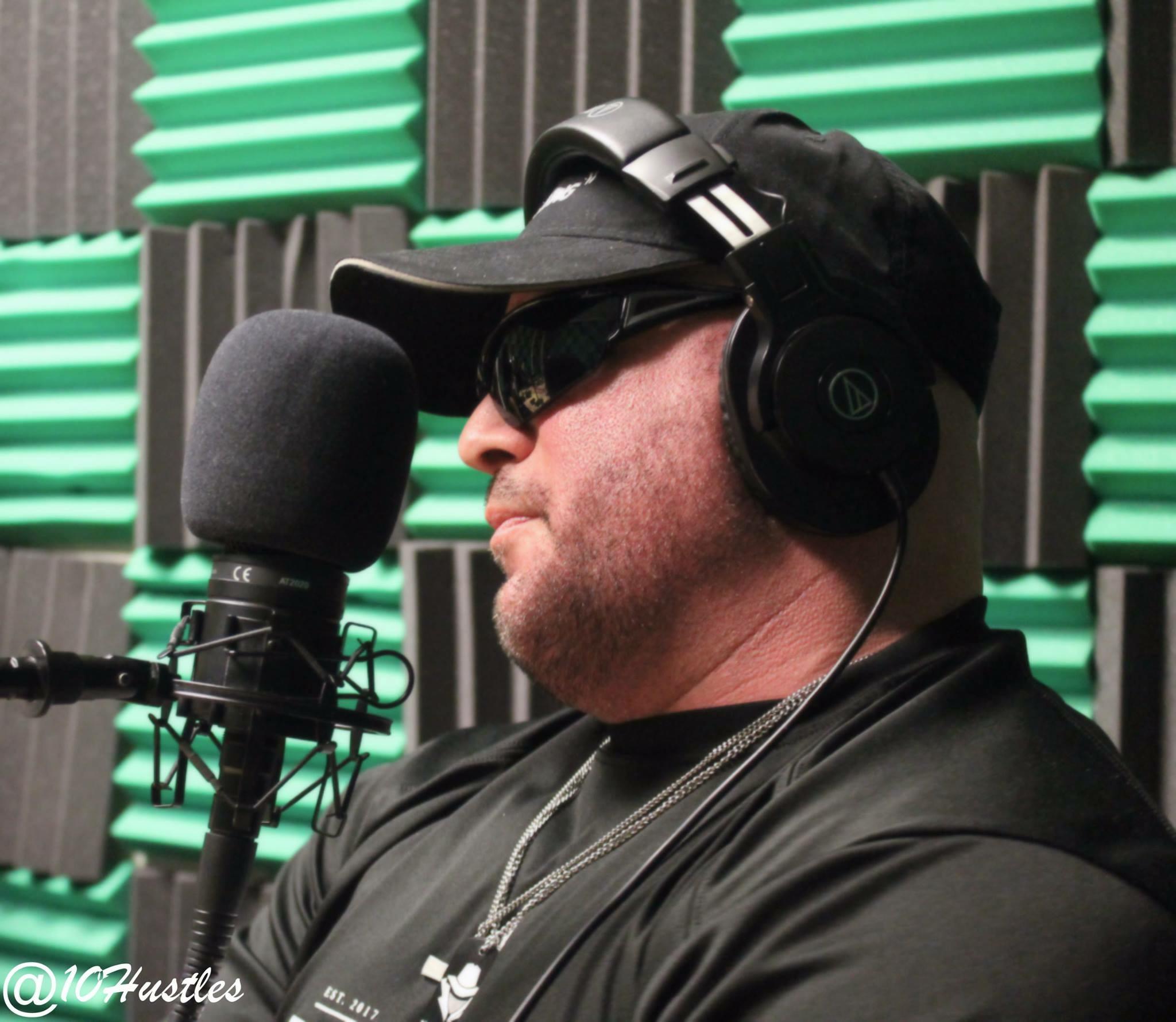 Gunner on a radio interview