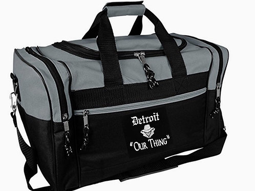 #EM0010 EMBROIDERED SMALL DUFFEL BAG