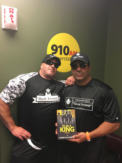 Gunner with acclaimed Detroit Chef Bobby Nahra