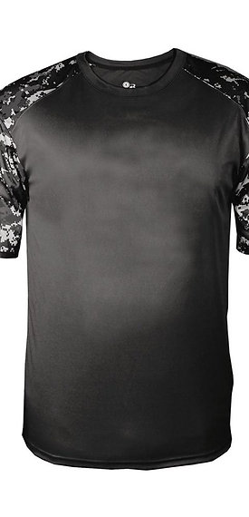 #CP0024 -- PERFORMANCE CAMO T-SHIRT (with Design # 24)