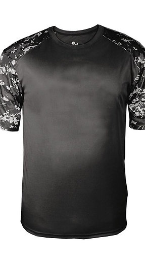 #CP0001 -- PERFORMANCE CAMO T-SHIRT (with Design # 1)
