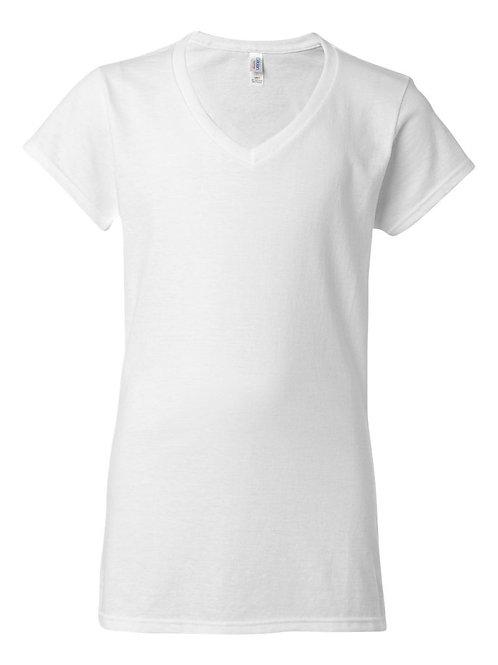 #L0025 -- LADIES CUT T-SHIRT (with Design # 25)