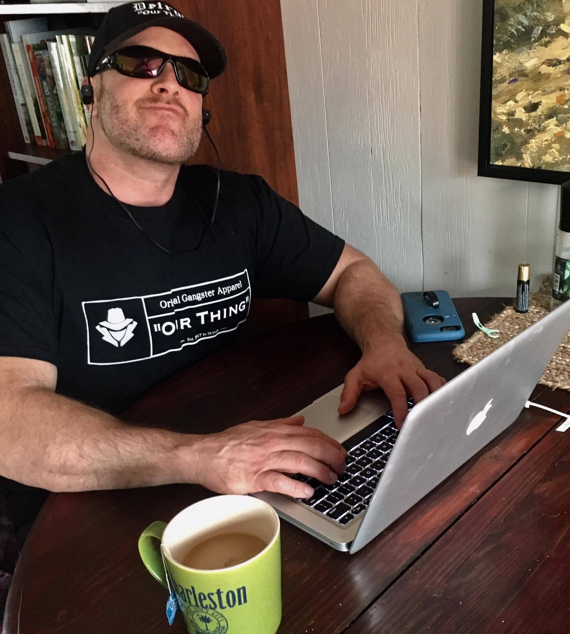 Gunner in the zone writing