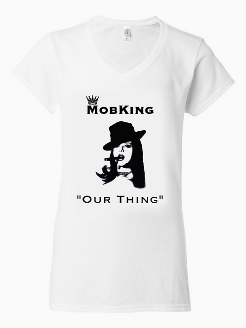 #MK6 -- MobKing Limited Edition Ladies T-Shirt, Design #6