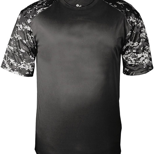 #CP0015 -- PERFORMANCE CAMO T-SHIRT (with Design # 15)