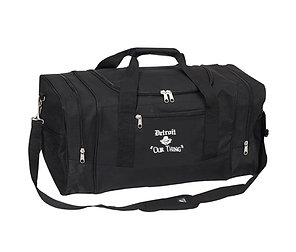#EM0009 EMBROIDERED LARGE DUFFEL BAG