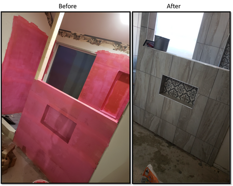 Shower 3 Before and After