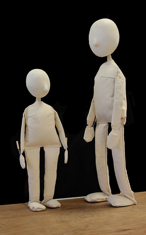 2 x Puppets (Small & Large)