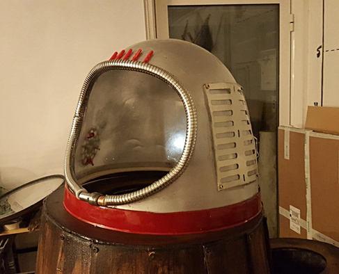 Spike's Space Helmet