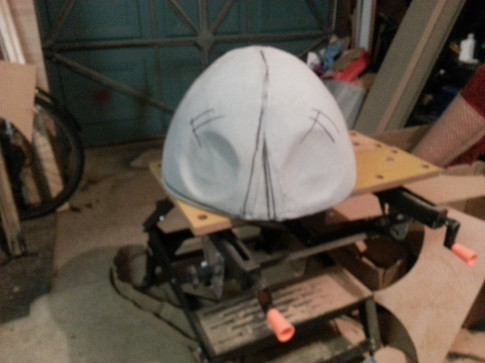 Rhenoflex head from pattern