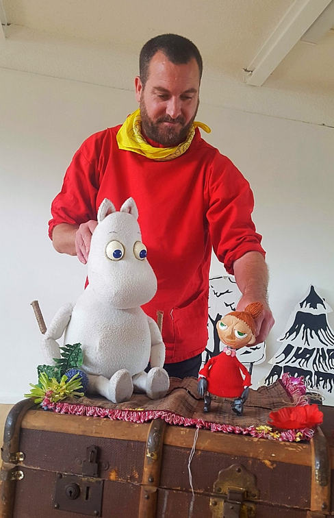 Moomintroll & Little My
