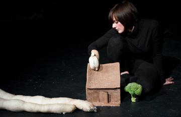 Woman & puppet