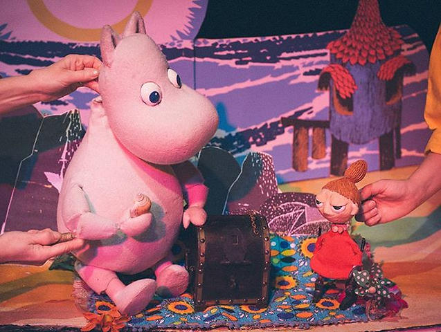 Moomintroll and Little My