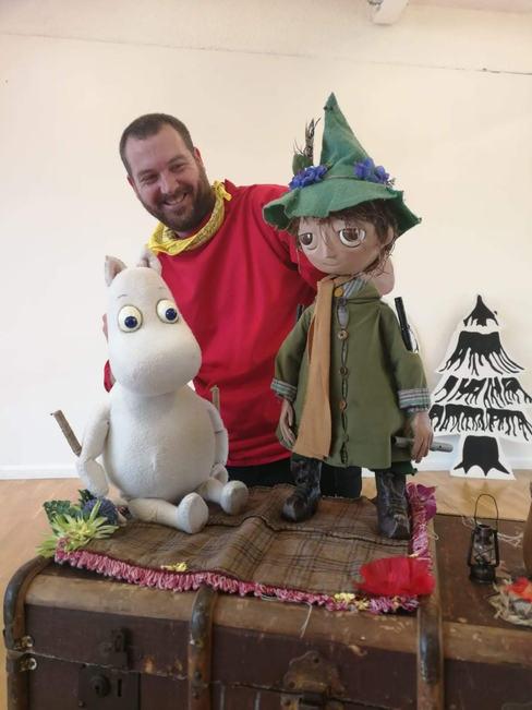 Moomintroll & Snufkin